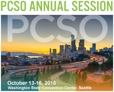 PCSO - October 13-16, 2016. Washington State Convention Center, Seattle